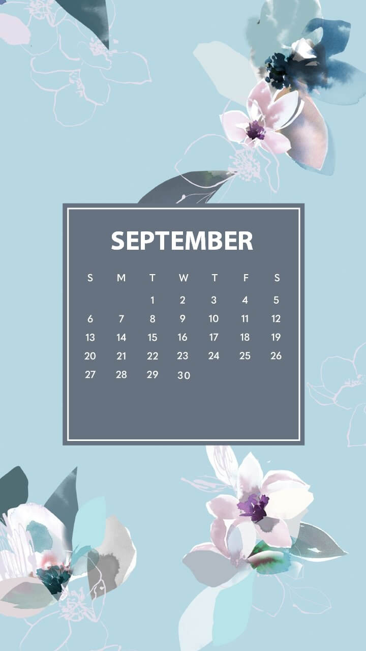 Cute September 2020 iPhone Wallpaper