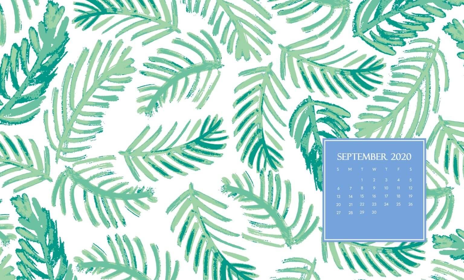 September 2020 Wallpaper Calendar
