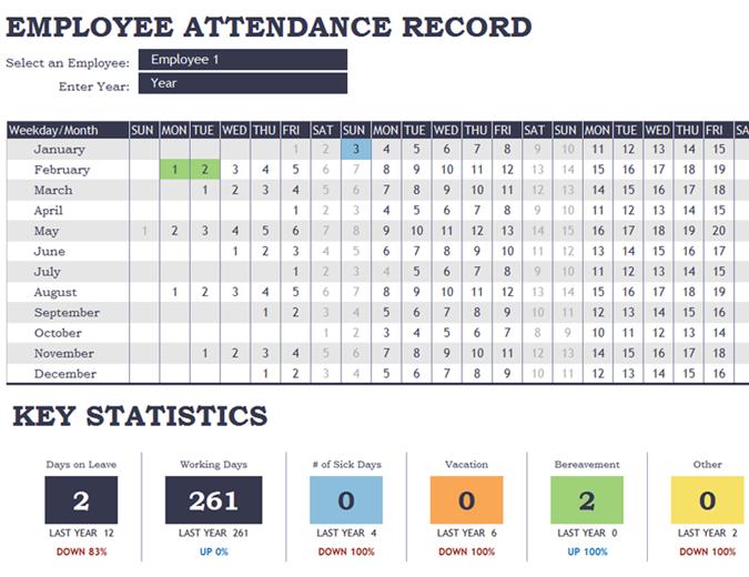 Employee Attendance Recorder