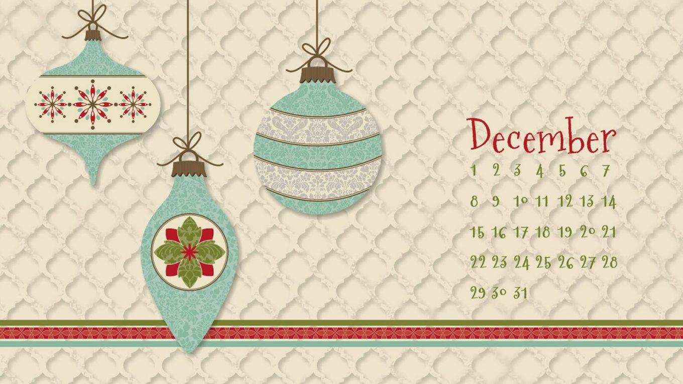 December 2019 Desktop Background Calendar