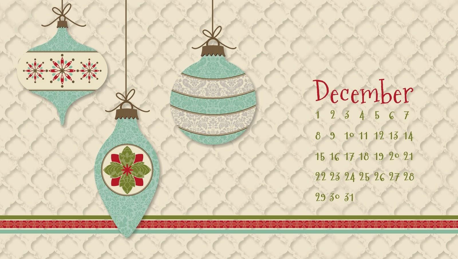 December 2019 Desktop Background Calendar