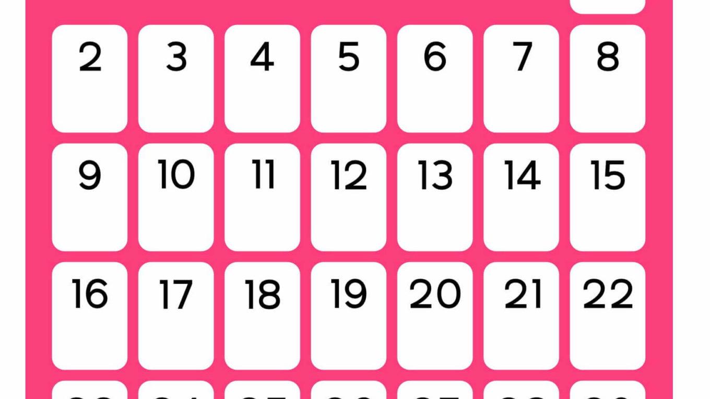 May 2021 Flower Calendar
