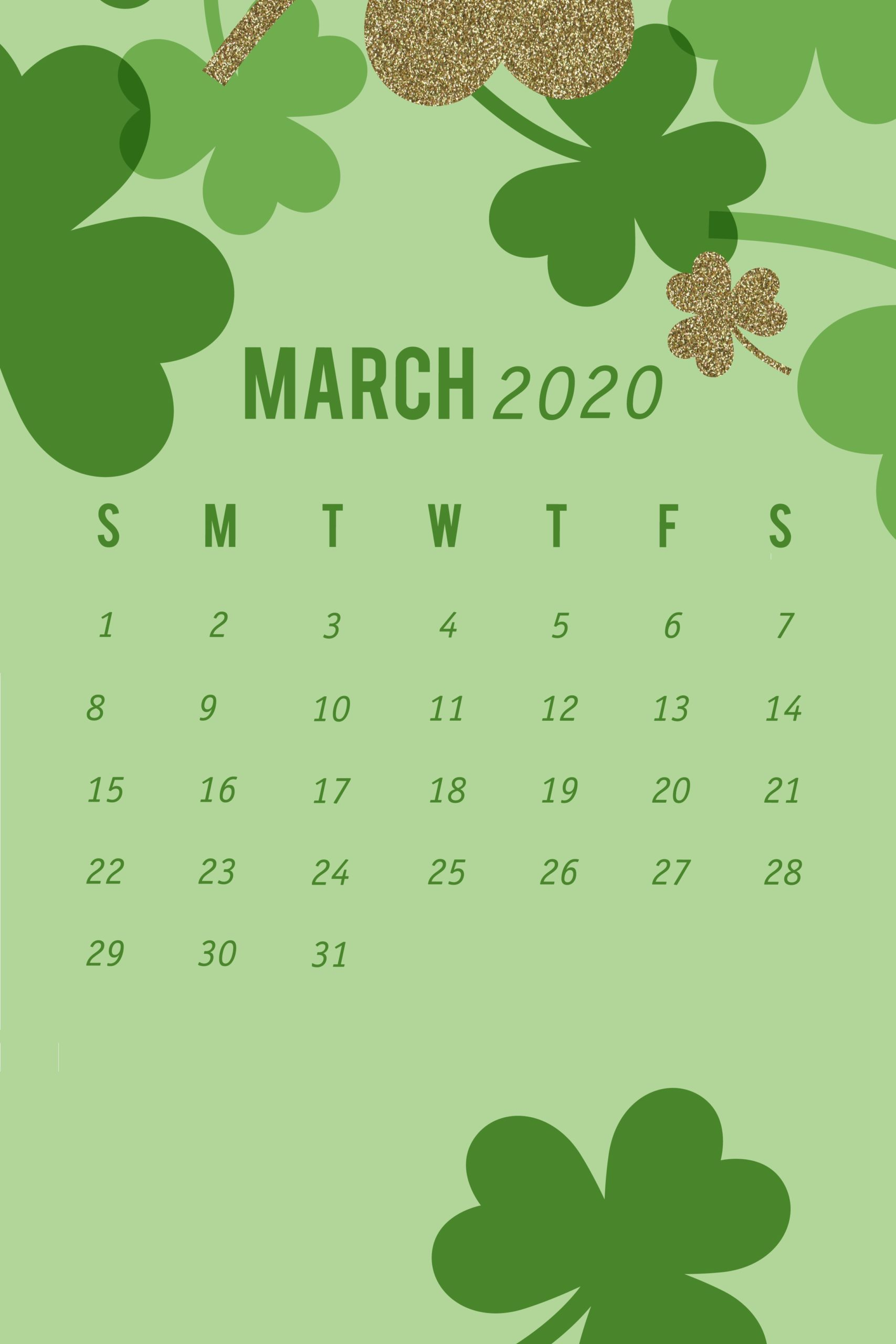 March 2020 Wallpaper iPhone