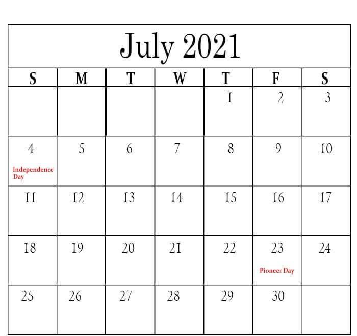 July 2021 australia holidays calendar